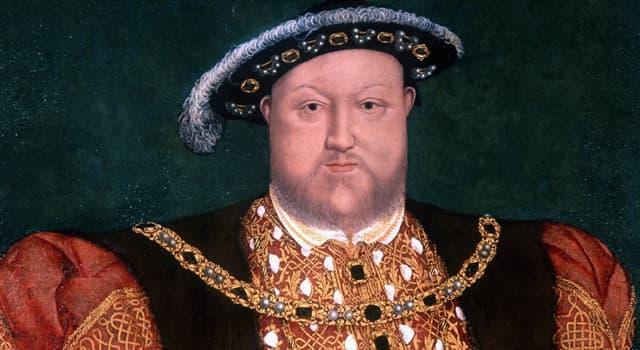 historia Pytanie-Ciekawostka: Jak miał na nazwisko Henryk VIII?