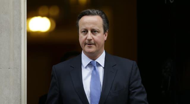 społeczeństwo Pytanie-Ciekawostka: Jaką pozycję w gabinecie cieni obejmował David Cameron zanim został liderem Partii Konserwatywnej?