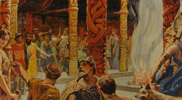 Kultura Pytanie-Ciekawostka: Jak w mitologii nordyckiej ma na imię bóg mądrości, poezji, śmierci i magii