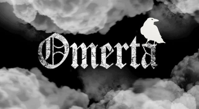 """Kultura Pytanie-Ciekawostka: Jaka jest powszechna definicja mafijnej zmowy """"Omertà""""?"""