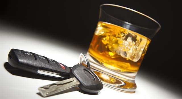 historia Pytanie-Ciekawostka: Jaki był zawód pierwszej osoby, która została skazana jako pijany kierowca w Wielkiej Brytanii?