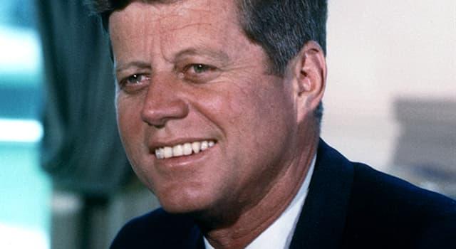 historia Pytanie-Ciekawostka: Jakie jest drugie imię Johna F. Kennedy'ego?