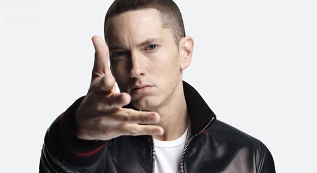 Kultura Pytanie-Ciekawostka: Jakiego innego imienia używa Eminem (Marshall Mathers)?