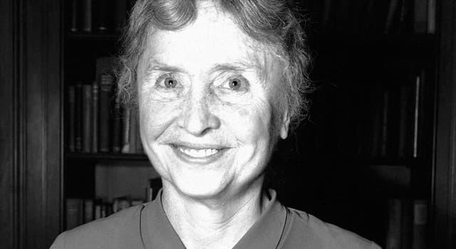 społeczeństwo Pytanie-Ciekawostka: Jakim medalem Prezydenckim została odznaczona Helen Keller?