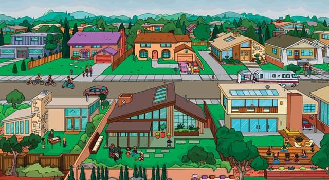 Фільми та серіали Запитання-цікавинка: Як називається місто, в якому відбувається дія мультсеріалу «Сімпсони»?