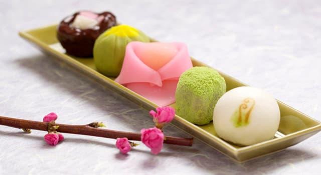 Культура Запитання-цікавинка: Як називають традиційні японські солодощі?