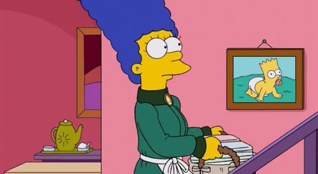 Фільми та серіали Запитання-цікавинка: Як звуть дружину Гомера Сімпсона?
