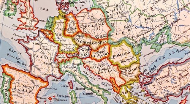 Історія Запитання-цікавинка: Які дві європейські країни були сформовані після Першої світової війни?