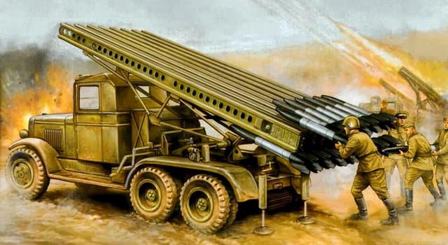 Історія Запитання-цікавинка: Яке неофіційну назву отримали бесствольное системи реактивної артилерії під час ВВВ?