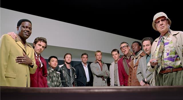 Фільми та серіали Запитання-цікавинка: Який актор зіграв Оушена у фільмі «Одинадцять друзів Оушена» (2001)?