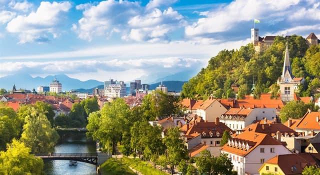Географія Запитання-цікавинка: Яке місто є столицею Словенії?