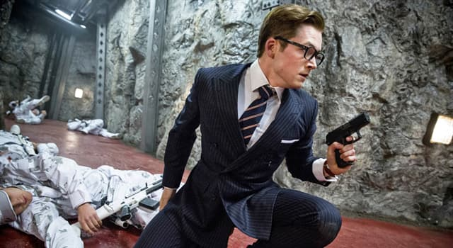 """Фільми та серіали Запитання-цікавинка: Який пістолет був стандартним пістолетом служби Kingsman у фільмі """"Kingsman: Секретна служба""""?"""