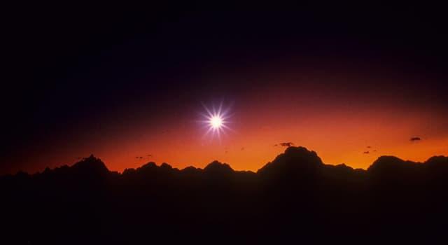 Наука Запитання-цікавинка: Яку планету називають Вечірньої зіркою?