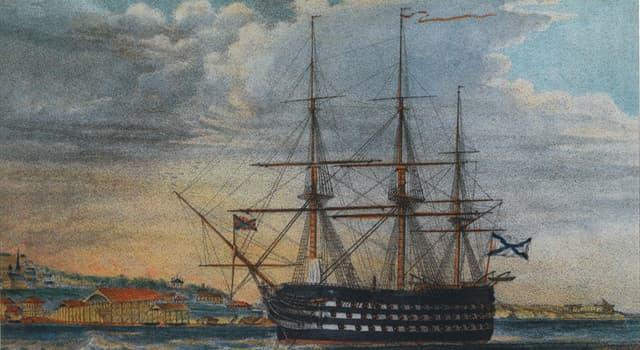 Історія Запитання-цікавинка: Ким був закладений 24-гарматний корабель «Святий Павло»?
