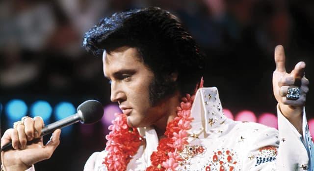Kultura Pytanie-Ciekawostka: Kiedy zmarł Elvis Presley?