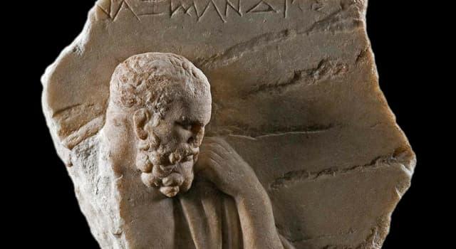 historia Pytanie-Ciekawostka: Kto był jednym z najwcześniejszych zwolenników nauki, twierdząc, że przyrodą rządzą prawa?