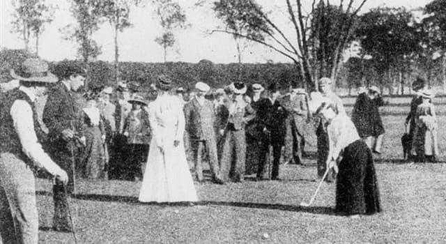 sport Pytanie-Ciekawostka: Kto był pierwszą kobietą, która oficjalnie grała w golfa?