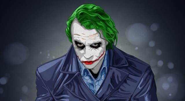 Фільми та серіали Запитання-цікавинка: Хто з перелічених акторів зіграв роль Джокера у фільмі про Бетмена?
