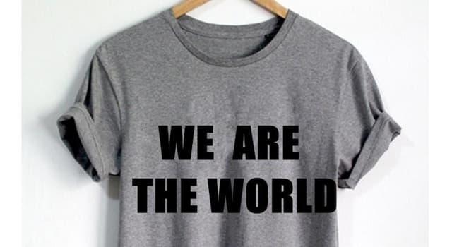 """Kultura Pytanie-Ciekawostka: Kto jest autorem piosenki """"We Are the World""""?"""