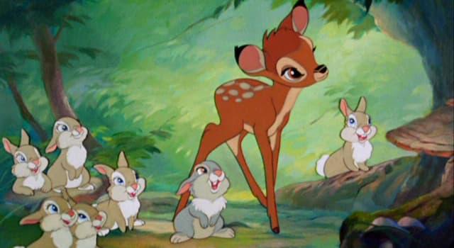 """Filmy Pytanie-Ciekawostka: Kto napisał książkę, na podstawie której Walt Disney stworzył film """"Bambi""""?"""