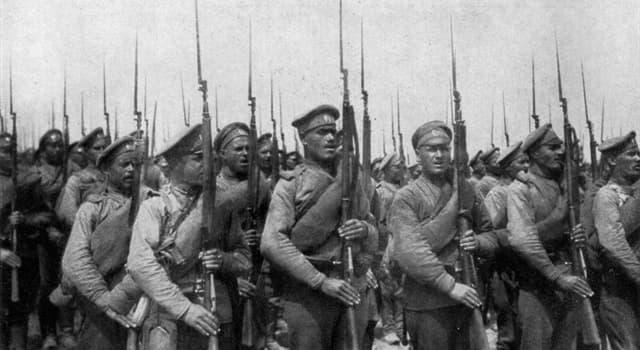 Історія Запитання-цікавинка: Хто правил в Росії під час початку Першої Світової війни?