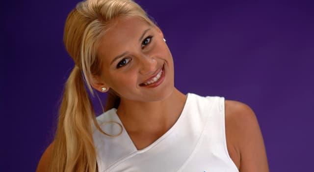 Спорт Запитання-цікавинка: Хто така Анна Курнікова?