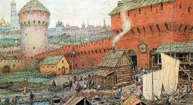 historia Pytanie-Ciekawostka: Kto uważany jest za założyciela Moskwy?