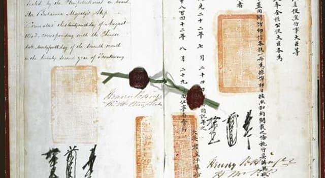 historia Pytanie-Ciekawostka: Kto walczył w I wojnie opiumowej?