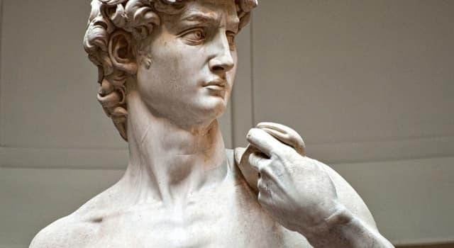 Kultura Pytanie-Ciekawostka: Kto wykonał rzeźbę Dawida, którą znajdziemy we Florencji?