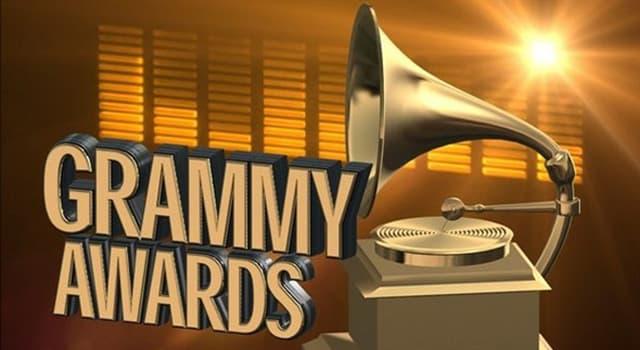 Kultura Pytanie-Ciekawostka: Kto zdobył najwięcej nagród Grammy?