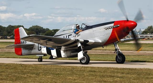 """historia Pytanie-Ciekawostka: Która eskadra w czasach II wojny światowej była znana jako """"Czerwone Ogony""""?"""