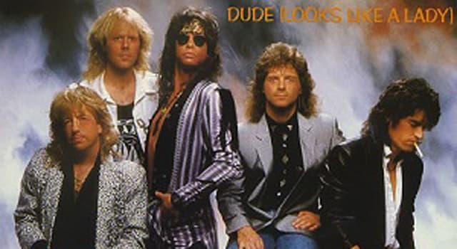 """Kultura Pytanie-Ciekawostka: Która gwiaza rocka była inspiracją dla piosenki Aerosmith """"Dude Looks Like a Lady""""?"""