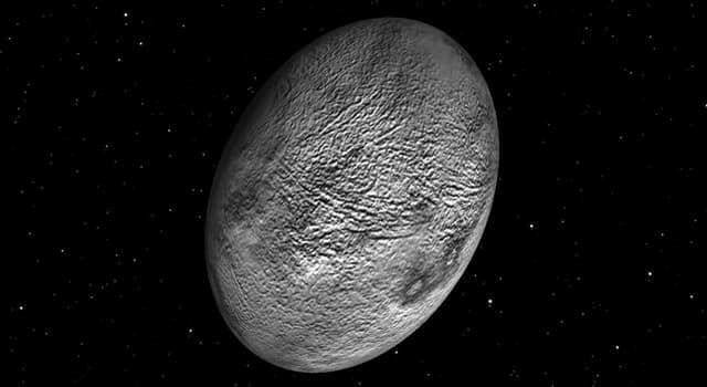 nauka Pytanie-Ciekawostka: Która planeta karłowata jest najszybciej obracającym się ciałem w Układzie Słonecznym? (do 2019 r.)