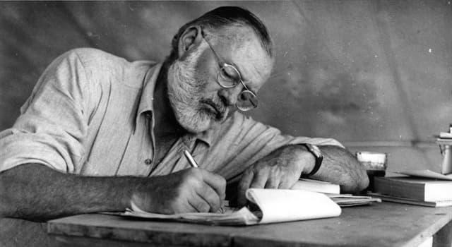 Kultura Pytanie-Ciekawostka: Która z noweli nie została napisana przez Ernesta Hemingwaya?