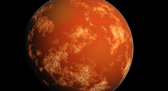 nauka Pytanie-Ciekawostka: Która z planet jest również nazywana Czerwoną Planetą?