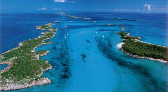 Geografia Pytanie-Ciekawostka: Która z tych wysp jest największą wyspą Bahamów?