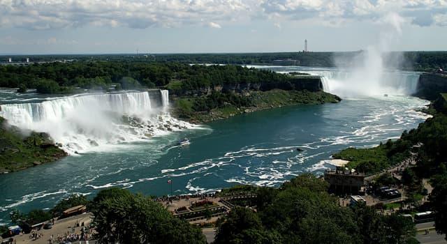 Geografia Pytanie-Ciekawostka: Które jeziora łączy rzeka Niagara?