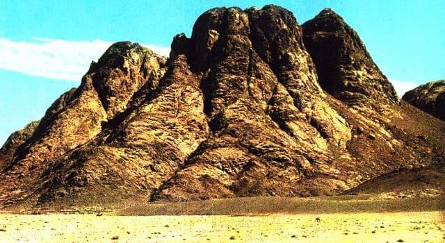 Geografia Pytanie-Ciekawostka: Które miasto leży najbliżej góry Synaj?