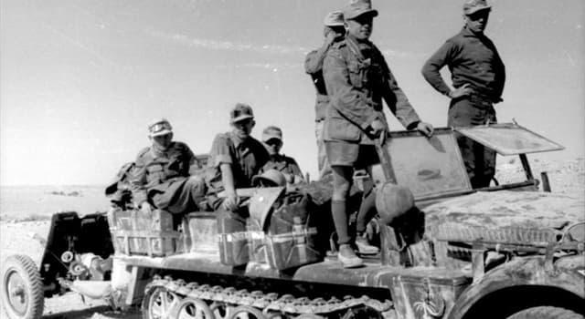 historia Pytanie-Ciekawostka: Którego dowódce niemieckiego Afrika Korps nazywano Lisem Pustyni?