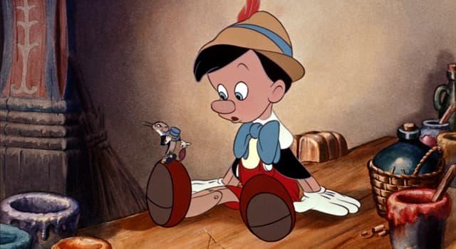 Kultura Pytanie-Ciekawostka: Który rzeźbiarz stworzył Pinokio?