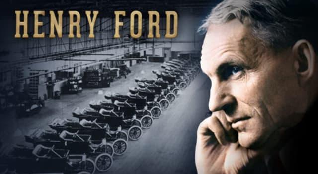 społeczeństwo Pytanie-Ciekawostka: Który samochód nazwano na część jedynego syna Henry Forda?