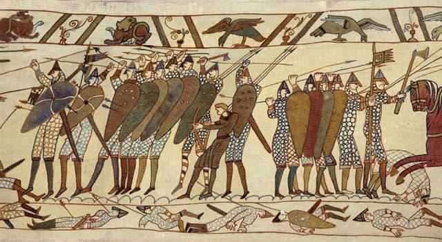 historia Pytanie-Ciekawostka: Który słynne opactwo przedstawione jest na Tkaninie z Bayeux?