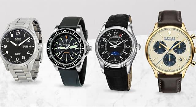 """społeczeństwo Pytanie-Ciekawostka: Który słynny szwajcarski producent zegarków wytwarza zegarki """"Oyster""""?"""