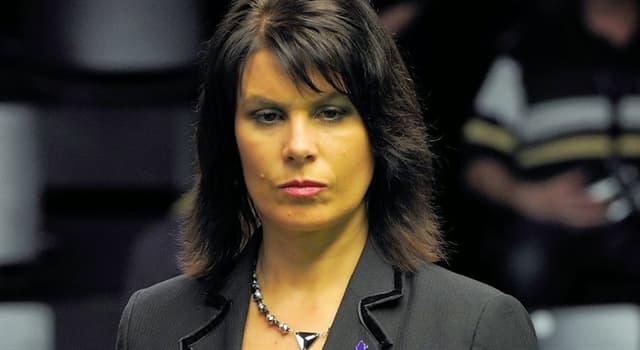Sport Wissensfrage: Michaela Tabb leitete am 3. und 4. Mai 2009 als erste Frau das Finale welcher Weltmeisterschaft?