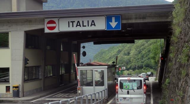 Geographie Wissensfrage: Mit welchem Land bildet die Schweiz die längste Staatsgrenze?