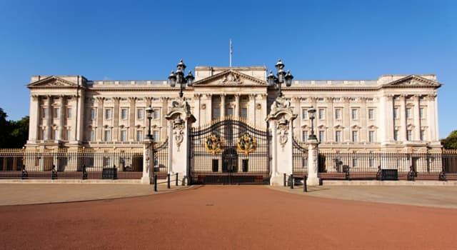 Geschichte Wissensfrage: Mit welchem Monarchen wurde der Buckingham-Palast zur offiziellen Residenz des britischen Monarchen?