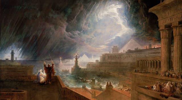 Geschichte Wissensfrage: Mit wieviel Katastrophen wurde Ägypten im 13. Jh. v. Chr. nach der biblischen Erzählung bestraft?