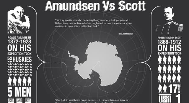 historia Pytanie-Ciekawostka: Na którym morzu rzekomo rozbiła się francuska łódź powietrzną Latham 47 Roalda Amundsena w 1928?