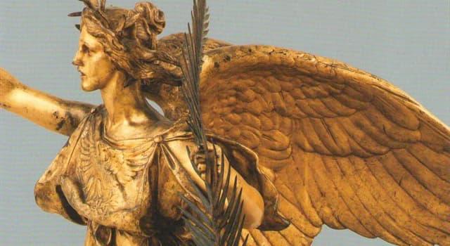 Культура Запитання-цікавинка: Ніка - це давньогрецька богиня чого?