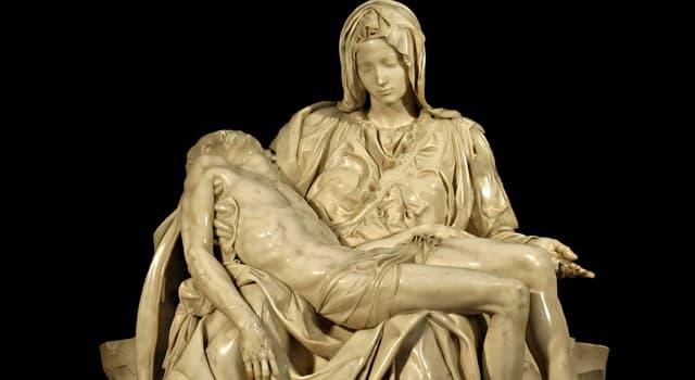 "Culture Trivia Question: ""Pietà"" is a sculpture by which artist?"